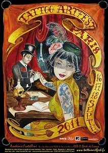 Tattoo Art Fest Paris 2011