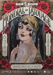Mondial du Tatouage Paris 2015