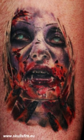 Demons and Monster Tattoos  123