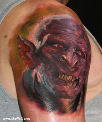 Demons and Monster Tattoos  124