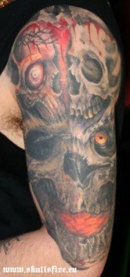 Demons and Monster Tattoos  131