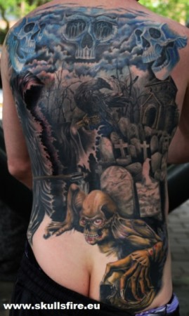 Demons and Monster Tattoos  137