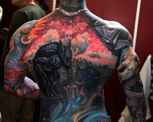 Demons and Monster Tattoos  140
