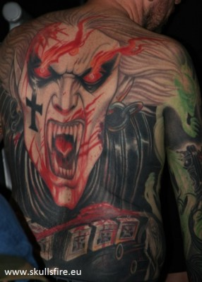 Demons and Monster Tattoos  148