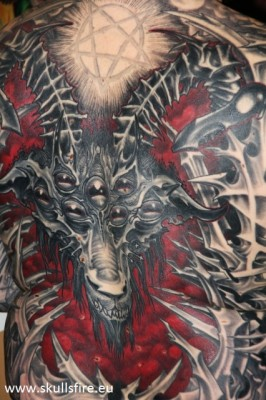 Demons and Monster Tattoos  150
