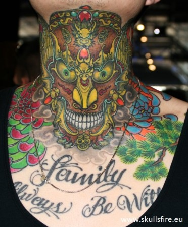 Demons and Monster Tattoos  152
