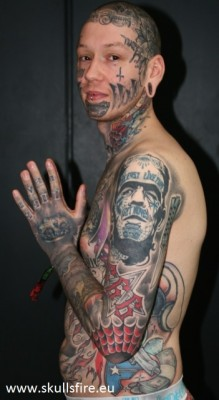 Demons and Monster Tattoos  153