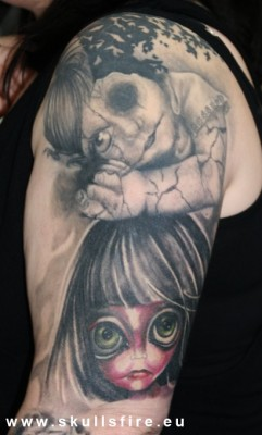 Demons and Monster Tattoos  169