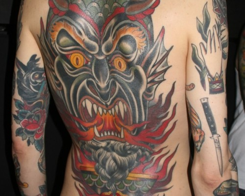 Demons and Monster Tattoos  193