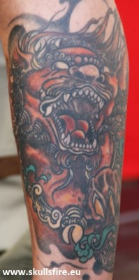 Demons and Monster Tattoos  199