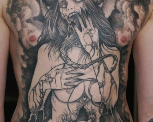 Demons and Monster Tattoos  214
