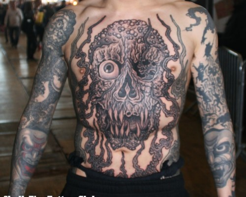 Demons and Monster Tattoos  220