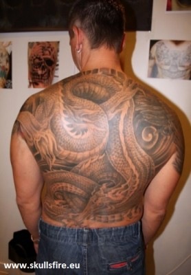 Dragon Tattoos  17
