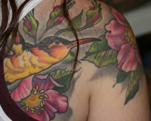 Flower Tattoos  106