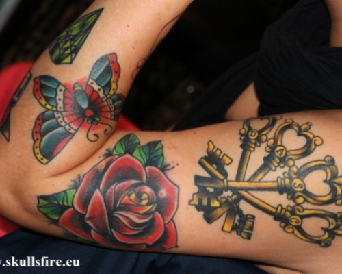 Flower Tattoos  128