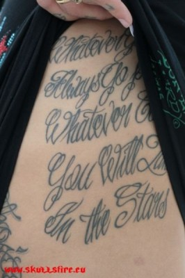 Text Tattoos  9
