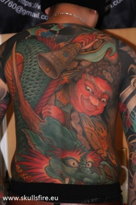 Big Piece   Color Tattoos  120