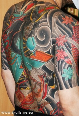 Big Piece   Color Tattoos  123