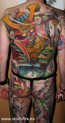 Big Piece   Color Tattoos  125