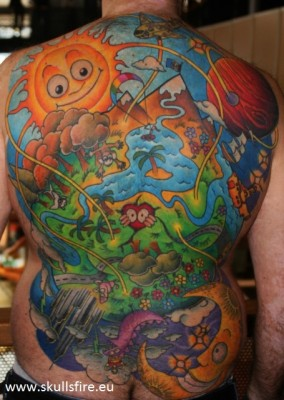 Big Piece   Color Tattoos  132