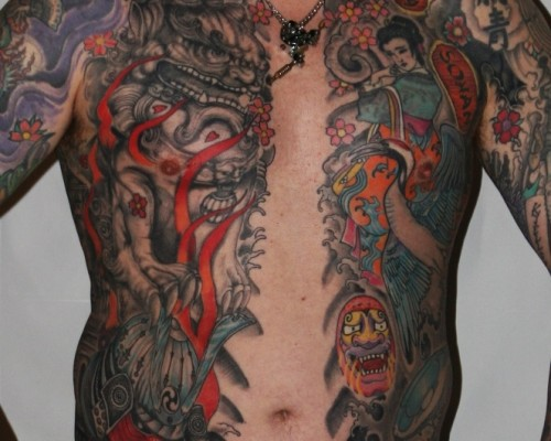 Big Piece   Color Tattoos  163