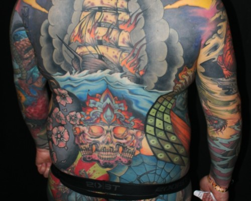 Big Piece   Color Tattoos  190