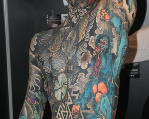 Big Piece   Color Tattoos  196