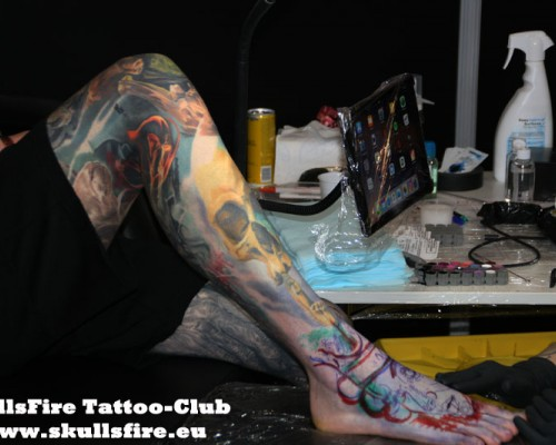 Mondial du Tatouages Paris 2019  7