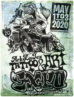 Ark-La-Tex Tattoo & Art Expo 2020
