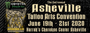 Asheville Tattoo Arts Convention 2020