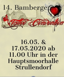 Bamberger Tattoo Convention 2020
