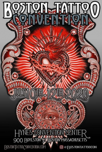 Boston Tattoo Convention 2020