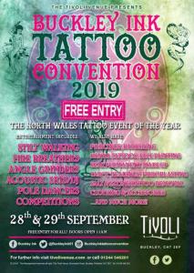 Buckley Ink Tattoo Convention 2019