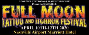 Full Moon Tattoo & Horror Fest 2020