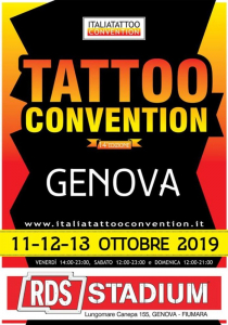 Genova Tattoo Convention 2019