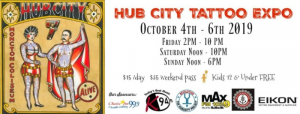 Hub City Tattoo Expo 2019