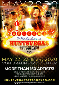 Huntsvegas Tattoo Expo 2020