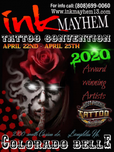 INK Mayhem Tattoo Convention 2020
