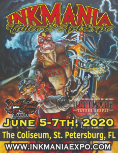 Ink Mania Tattoo & Art Expo 2020