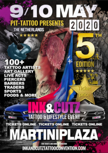 Ink and Cutz Tattoo Convention 2020