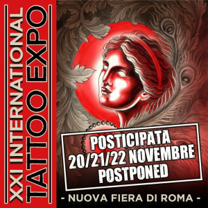 Tattoo Expo Roma 2020