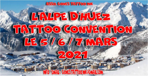 L'Alpe D'Huez Tattoo Convention 2021