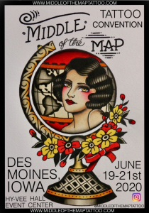 Middle of the Map Tattoo Convention 2020