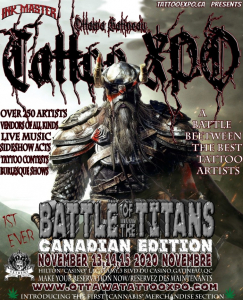 Ottawa-Gatineau Tattoo Expo 2020
