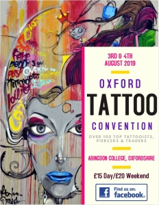 Oxford Tattoo Convention 2019
