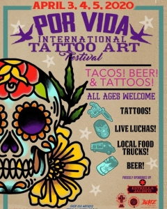 Por Vida Tattoo Art Festival 2020