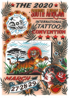 South African Tattoo Convention 2020