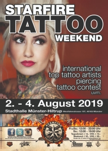 Starfire Tattoo Weekend Münster 2019