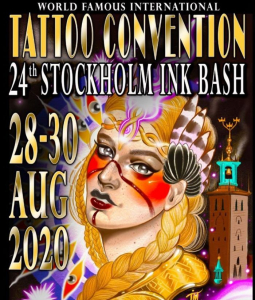Stockholm Ink Bash Tattoo Convention 2020