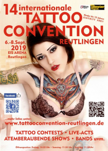 Tattoo Convention Reutlingen 2019